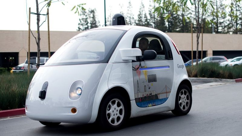 Driverless car.