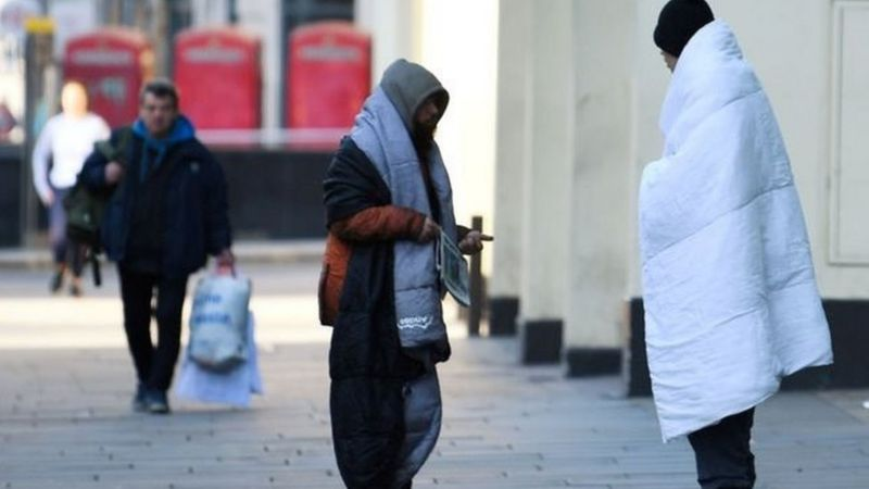 Charities divided on Bristol council's £2m for homeless _114577865_whatsubject
