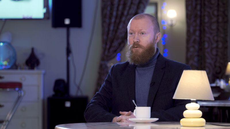 Руководитель Московского казачьего хора Вениамин Новоточинов