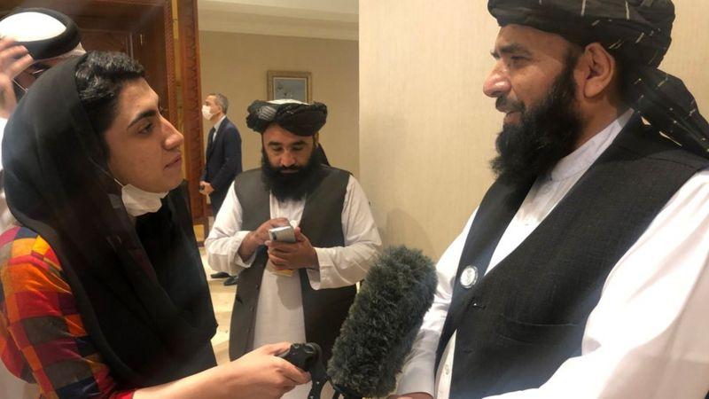 Bir kadın muhabirin Taliban'la mülakat deneyimi