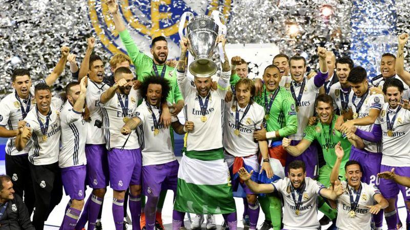 Real Madrid celebrate Champions League win - CBBC Newsround 369e15a44711f