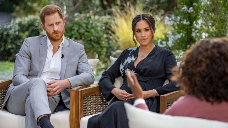 مصاحبه جنجالی عروس و پسر ولیعهد بریتانیا با شبکه آمریکایی