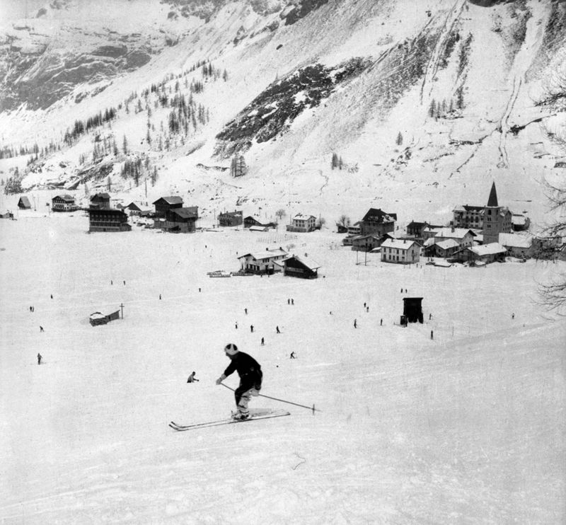 Val dIsère in 1938