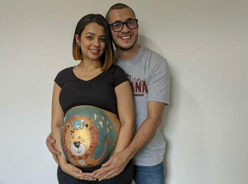 Daniel y su esposa
