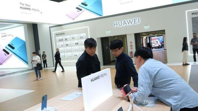 Tiendas de Huawei