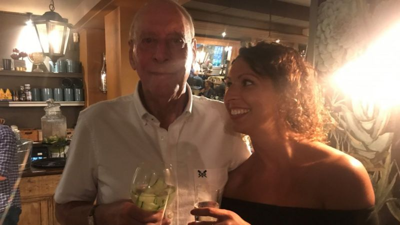 Vicki and her dad