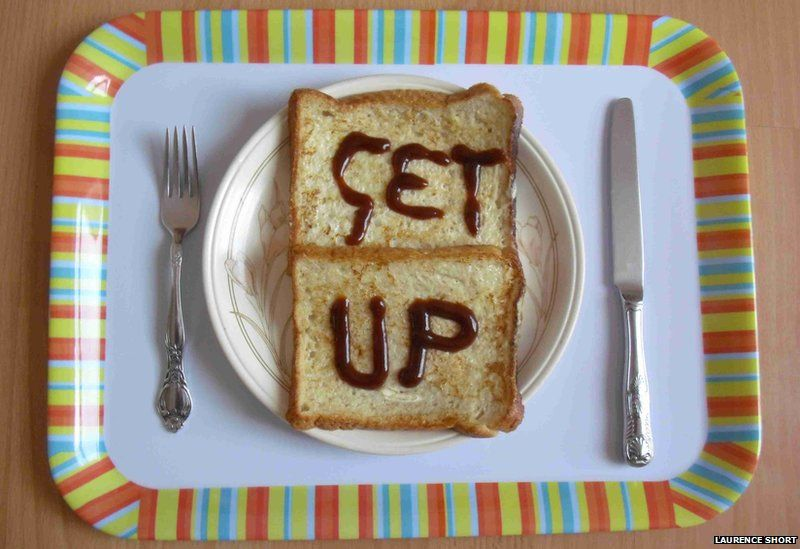 Get Up on toast