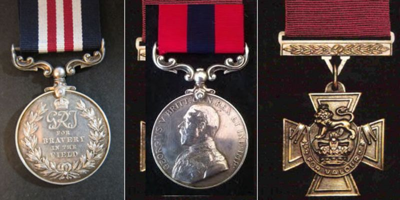 Military medal, DCM (medal) Victoria Cross (medal)