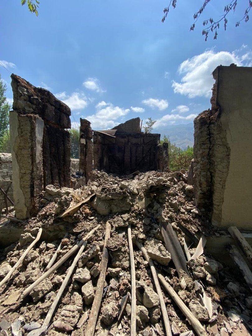 Many buildings were left beyond repair