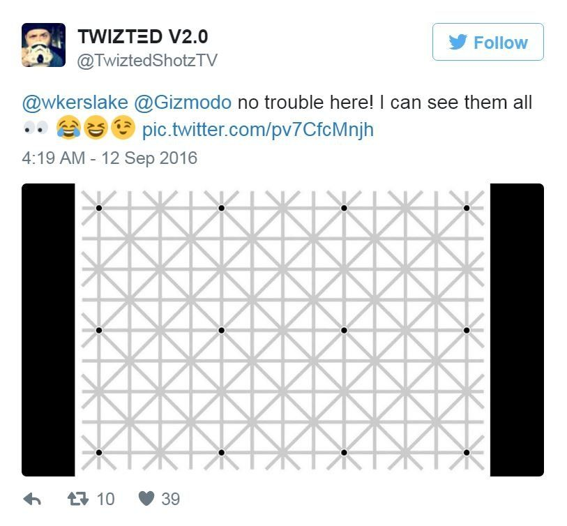 @TwiztedShotzTV tweeted: no trouble here! I can see them all