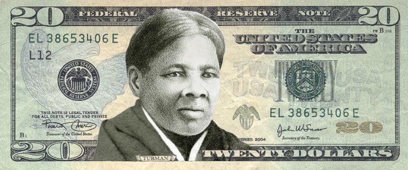 Harriet Tubman on the $20