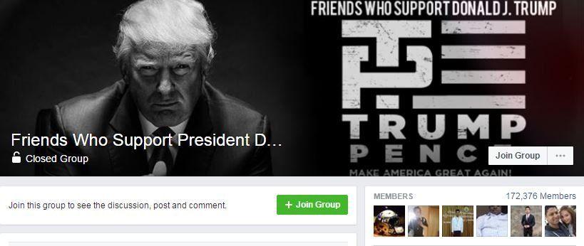 Trump Facebook group