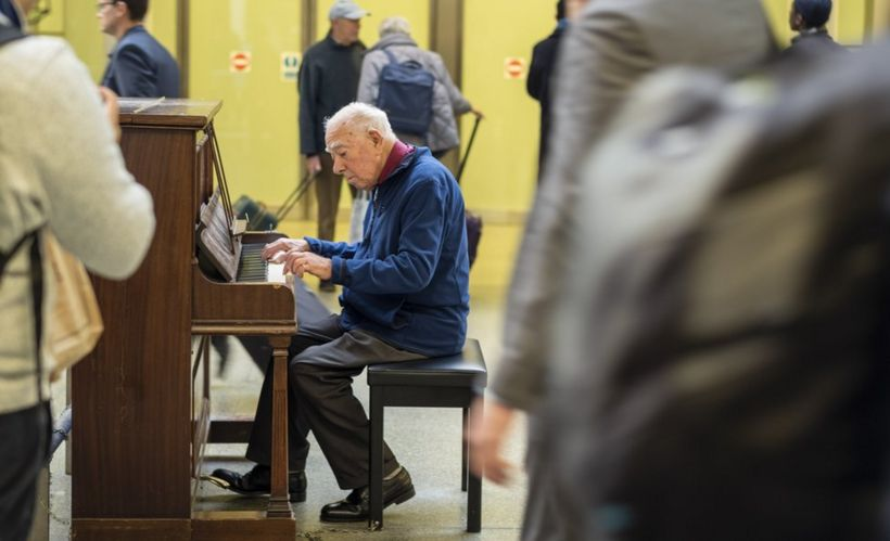 How pianos became part of the furniture at UK railway stations