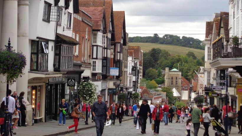 Guildford is the inheritance tax capital of the UK