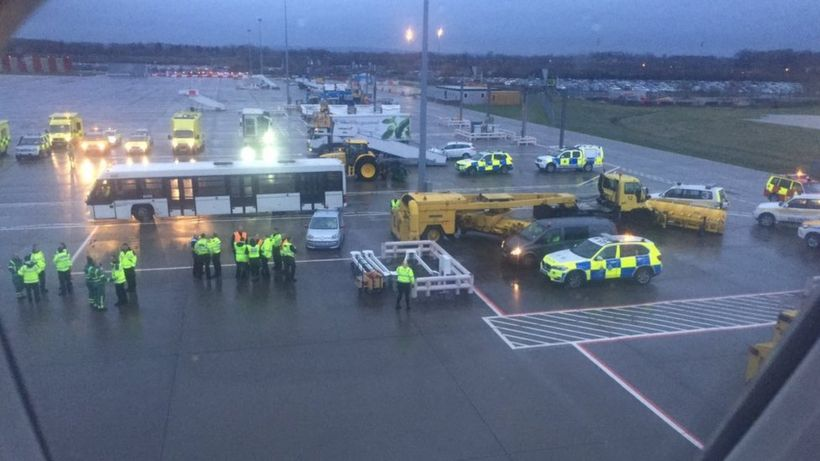 Passengers quarantined at Gatwick after Barbados flight