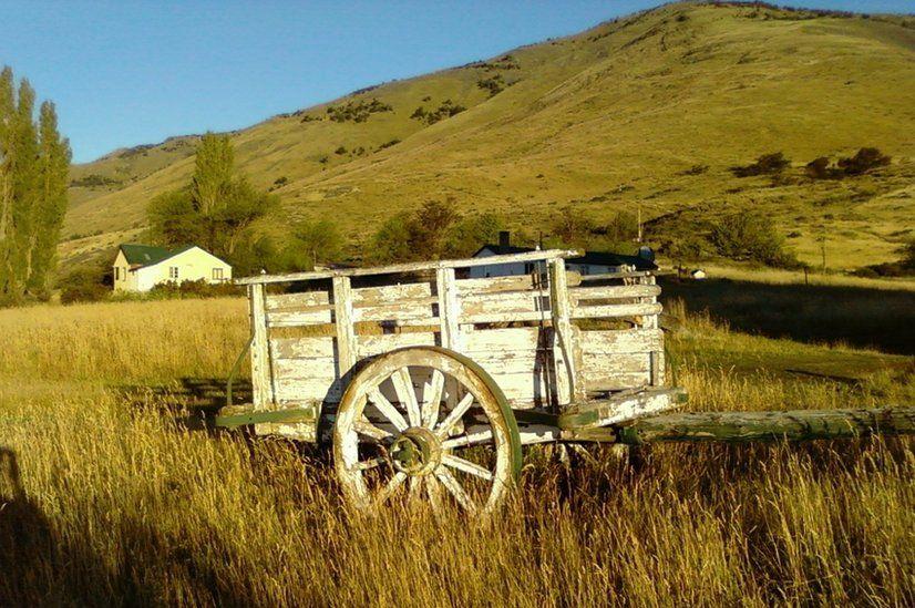 Wagon in Calafate in Argentina