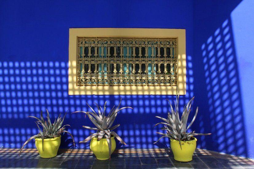 Majorelle Gardens, Marrakech, Morocco