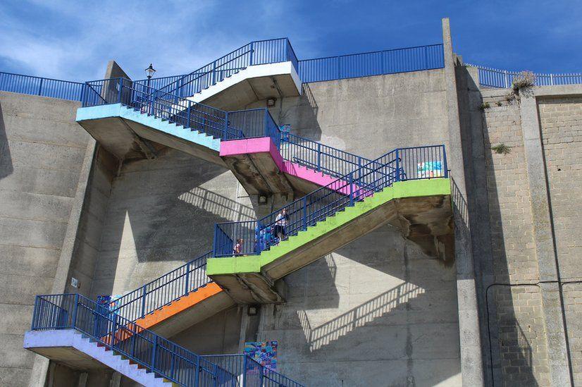Steps in Ramsgate, Kent