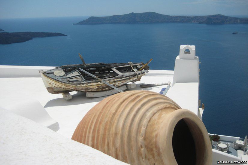 Rooftop in Fira
