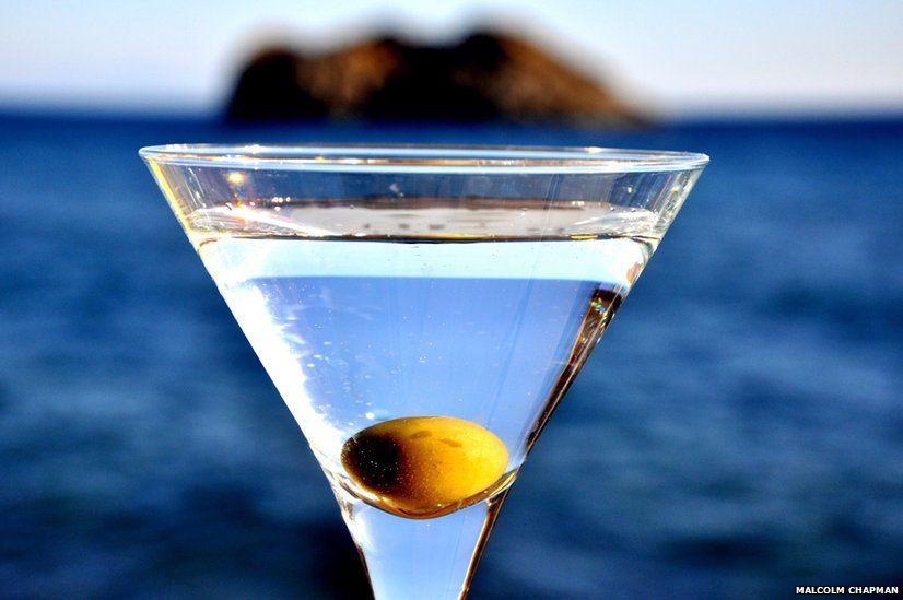 Cocktail by the sea, Eressos, Lesvos, Greece