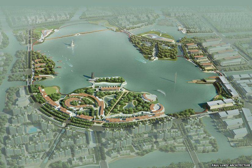 Paojiang Lake concept design
