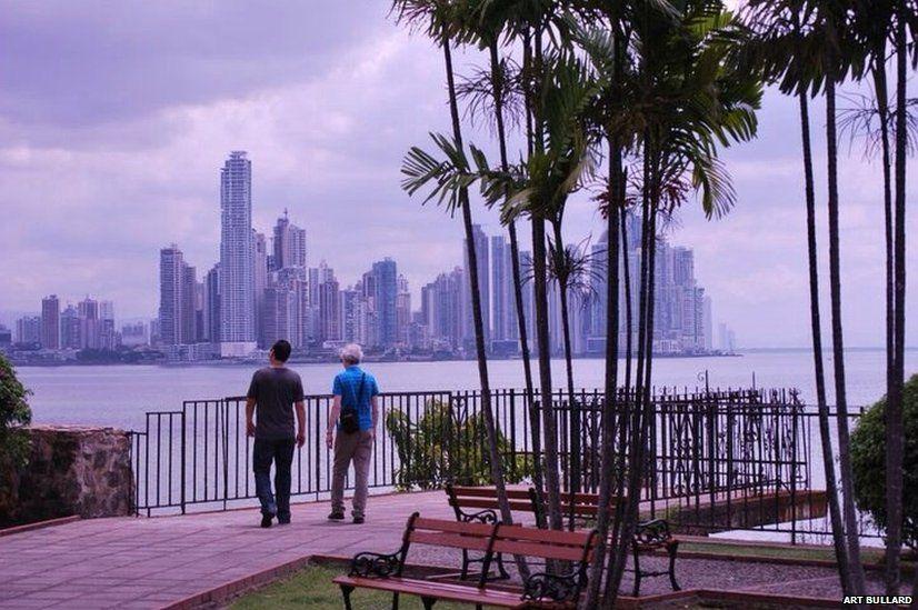 The City of Panama seen from Casco Viejo