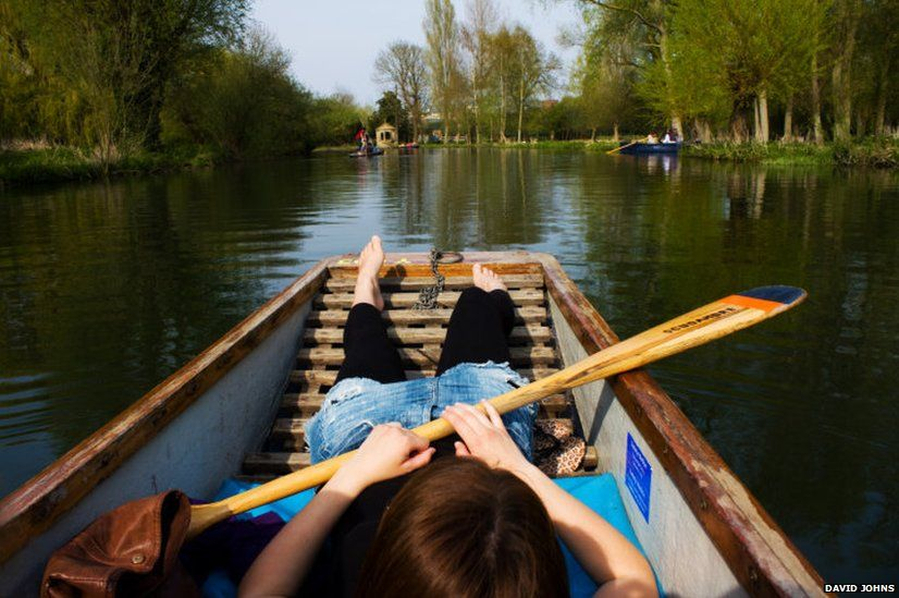 Punt on the River Cam