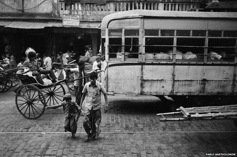 Calcutta tram, 1978