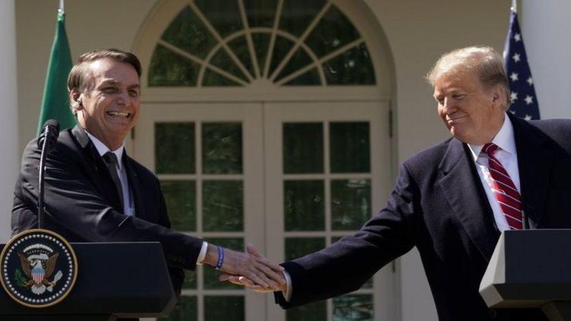 Bolsonaro e Trump