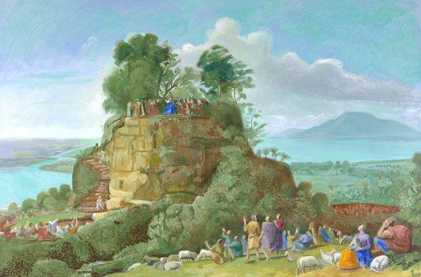 The Sermon on the Mount II (After Claude), 2010 by David Hockney