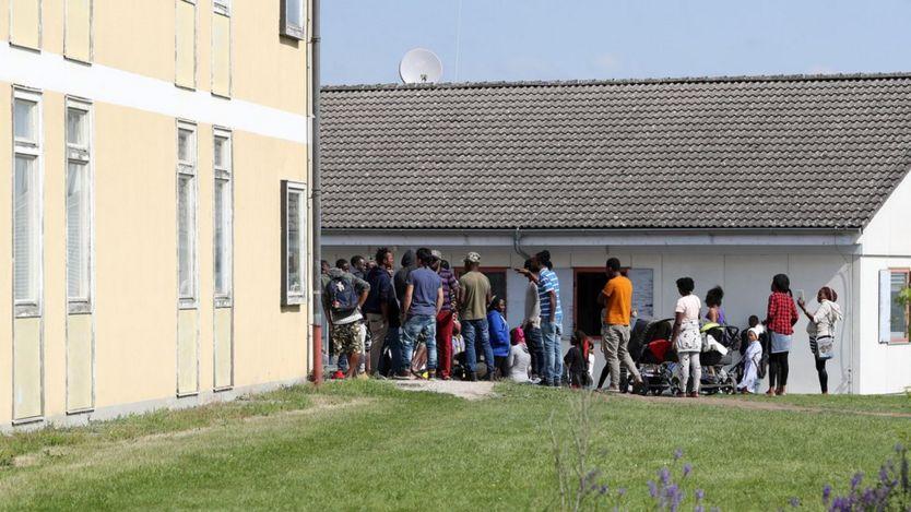 مركز إيواء المهاجرين الجديد في ألمانيا