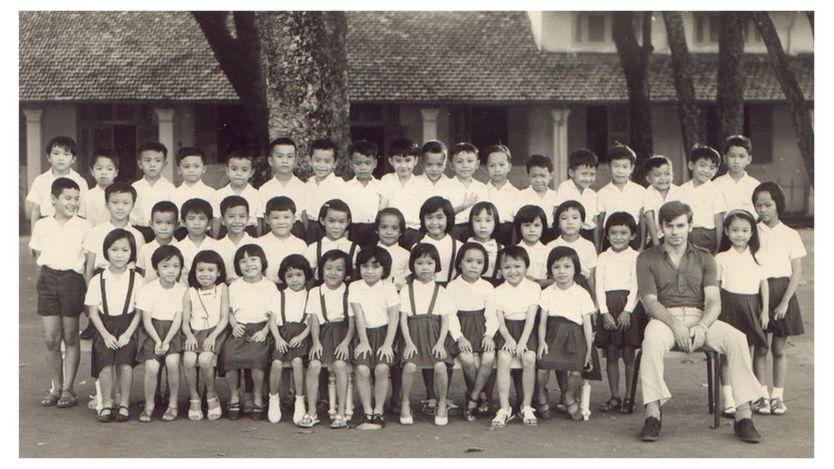Ông Andre Menras từng dạy tiếng Pháp ở Việt Nam thời trẻ