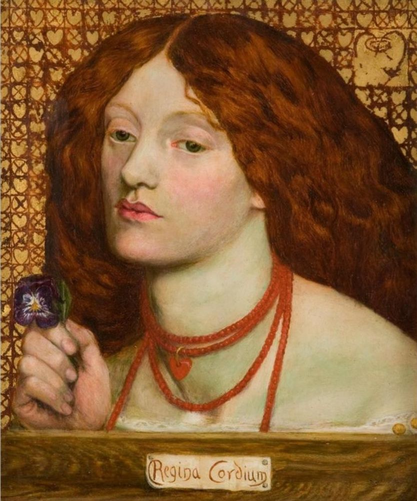 'Regina Cordium' (1860), de Dante Gabriel Rossetti