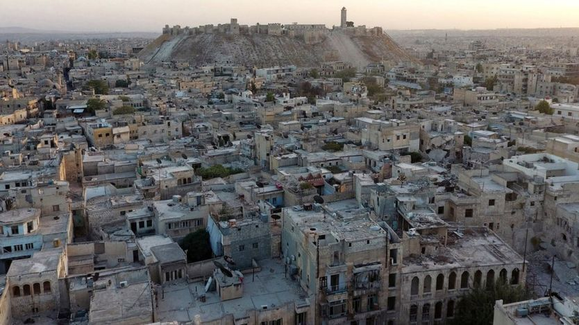 War Torn Aleppo