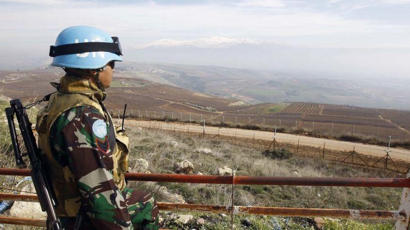 نیروهای حافظ صلح سازمان ملل از سال ۱۹۷۴ در بلندیهای جولان مستقر هستند