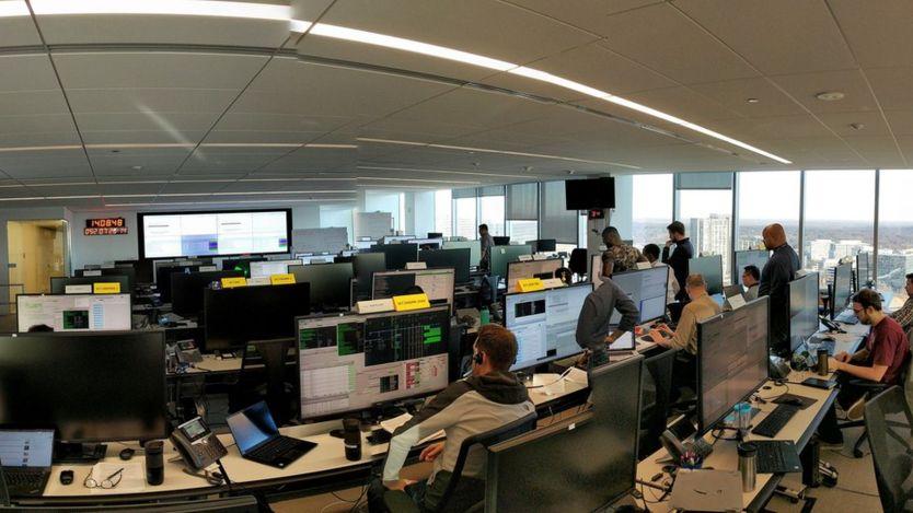 US control room