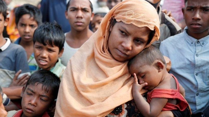 لاجئة من الروهينجا