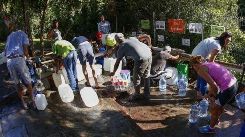 """Ciudad del Cabo: el """"día cero"""" por primera vez, una gran ciudad en el planeta tierra, puede quedarse sin agua"""