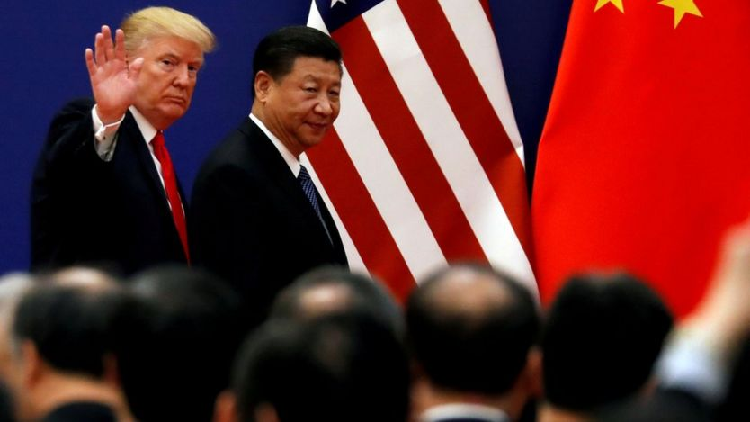 Trump e presidente chinês