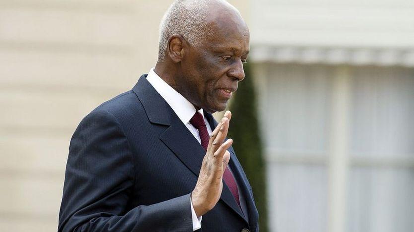 Angola's President Jose Eduardo Dos Santos
