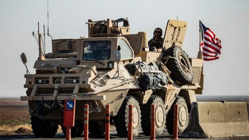 US patrol in Hasakeh province, 12 Oct