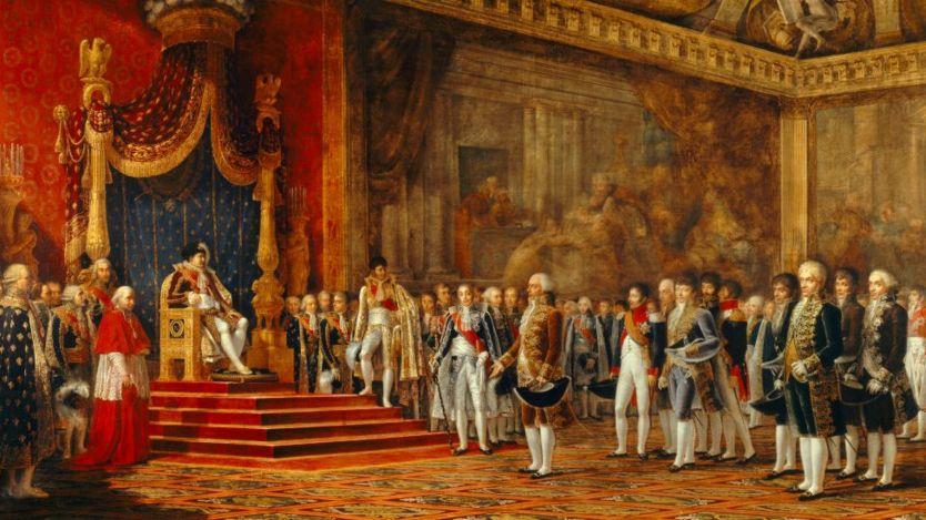 Lukisan Napoleon di Chateaux of Versailles pada tahun 1809