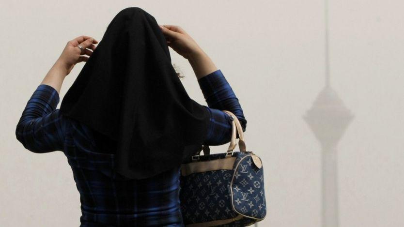 زنی در تهران