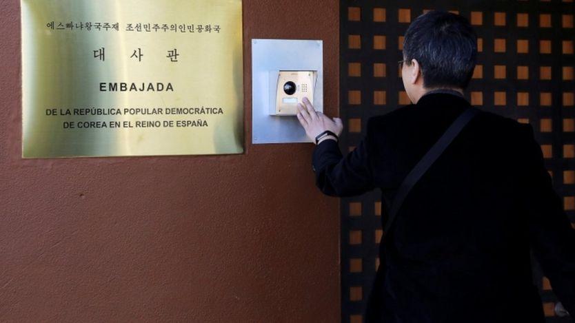 سفارت کره شمالی در اسپانیا