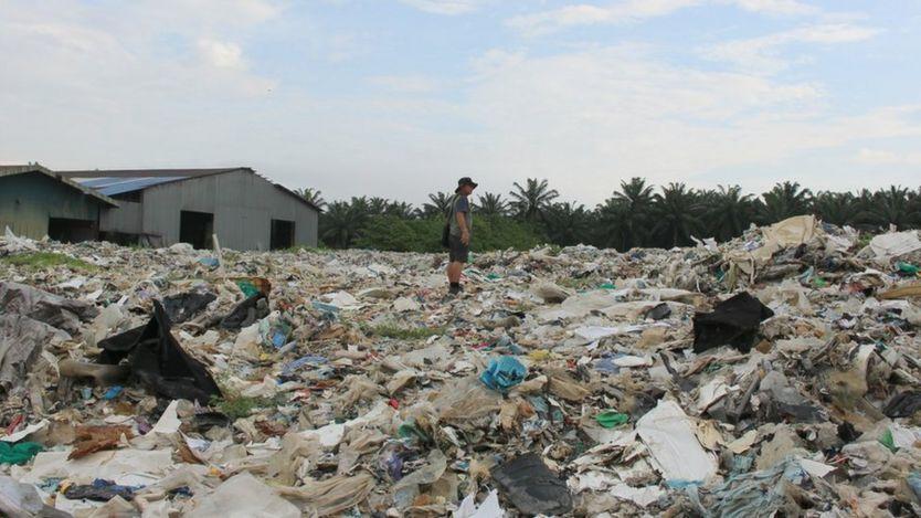 4 тысячи тонн мусора лежит на этом земельном участке