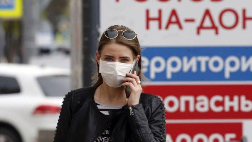 Một phụ nữ Nga trong mùa virus