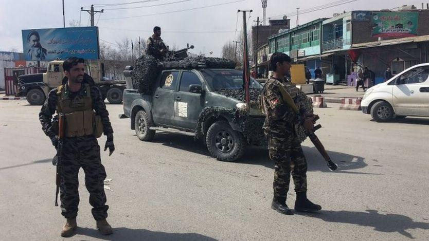 حمله انتحاری در غرب کابل
