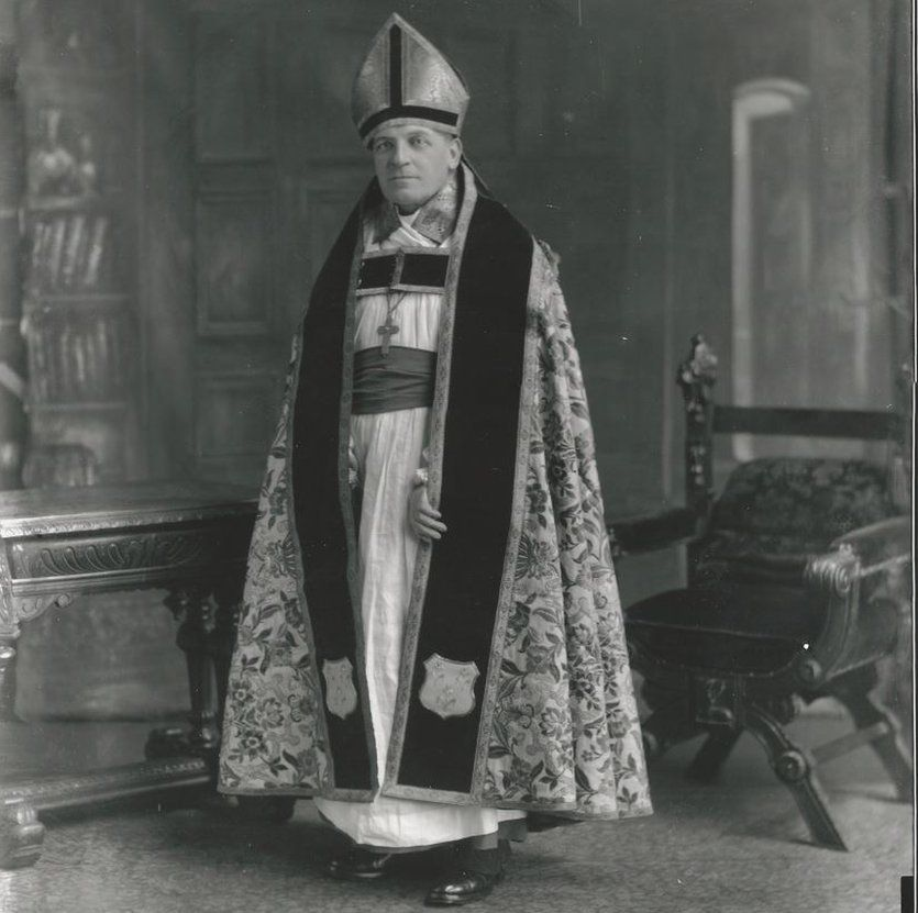 Edmund Courtenay Pearce before becoming first Bishop of Derby in October