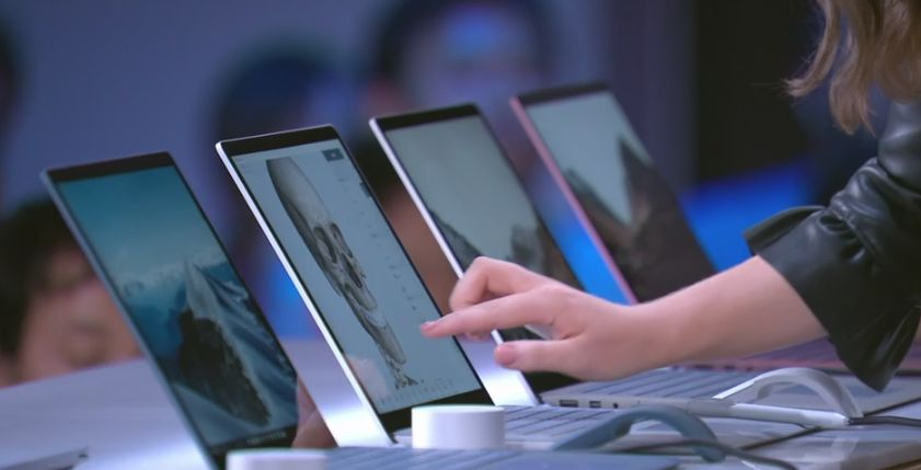 New Microsoft Surface laptop