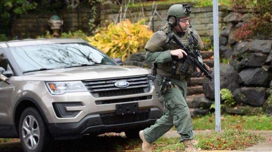 美国匹兹堡犹太教堂发生枪击至少11人死